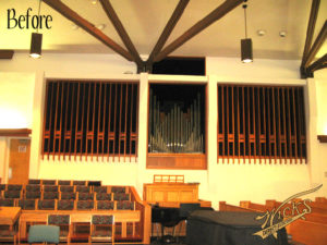 The existing Austin Organ