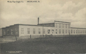 The second home of Wicks Organs in 1910