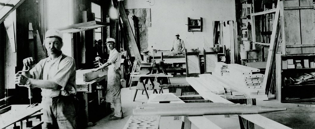 Wicks Organs Factory in 1910